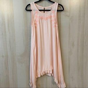 Mittoshop Pink Sleeveless Summer Dress NWT Size S